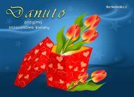 eKartki Imienne damskie Kwiaty dla Danuty,
