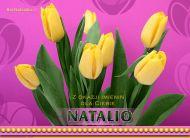 eKartki Imienne damskie Natalio dla Ciebie,