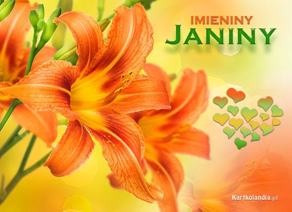 Kartka dla Janiny
