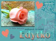 eKartki elektroniczne z tagiem: e-Kartka na imieniny Dla Edytki,