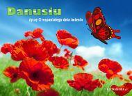 eKartki Imienne damskie e-Kartka dla Danusi,