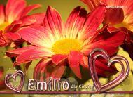 eKartki elektroniczne z tagiem: e-Kartka imieninowa Emilio dla Ciebie,