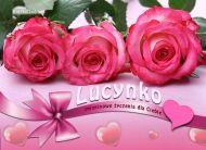 eKartki elektroniczne z tagiem: e-Kartka na imieniny Imieninowy dzień Lucynki,