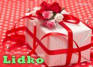 eKartki Imienne damskie Imieninowy prezent dla Lidki,