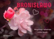 eKartki Imienne damskie Kartka dla Bronis³awy,