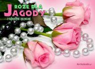 eKartki Imienne damskie Róże dla Jagody,