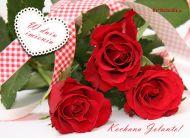 eKartki Imienne damskie Róże dla Jolanty,