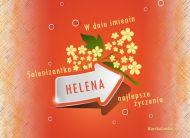 eKartki Imienne damskie Solenizantka Helena,