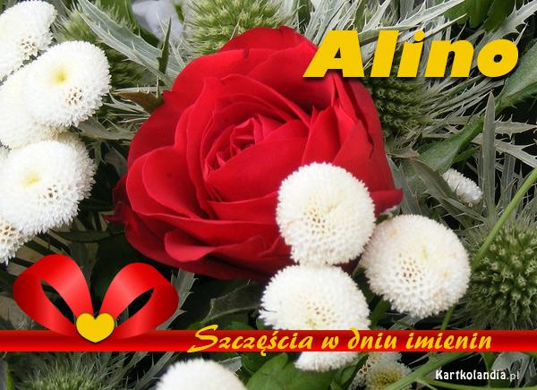 Kartka imieninowa dla Aliny