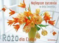 eKartki Imienne damskie Bukiet dla Róży,