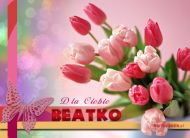 eKartki Imienne damskie Imieniny Beaty,