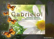 eKartki elektroniczne z tagiem: Kartka imieninowa Życzenia dla Gabrieli,