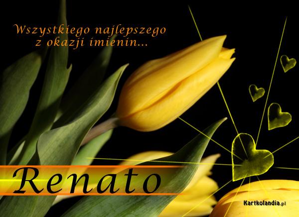 Życzenia dla Renaty