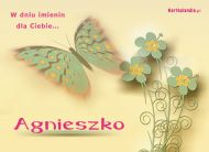 eKartki Imienne damskie Kartka dla Agnieszki,