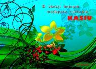 eKartki Imienne damskie Kwiaty dla Kasi,