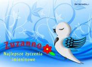 eKartki Imienne damskie Z okazji imienin Zuzanny,