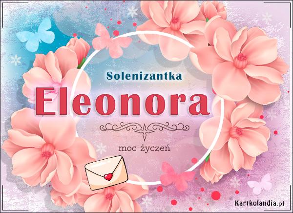 eKartki elektroniczne z tagiem: Lenka Imieninowa poczta dla Eleonory,