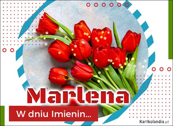 eKartki elektroniczne z tagiem: Lenka Imieninowa poczta dla Marleny,