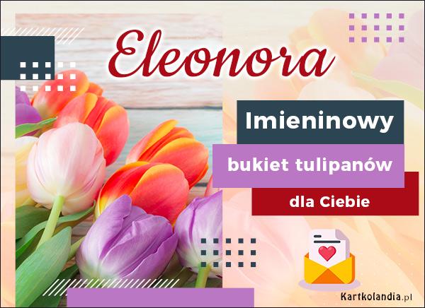 eKartki elektroniczne z tagiem: Lenka Imieninowy bukiet dla Eleonory,