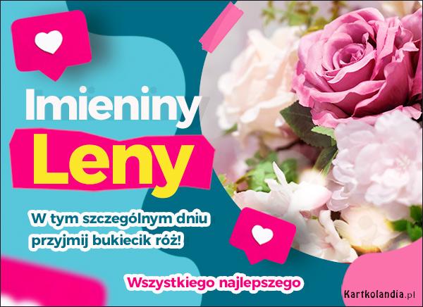 eKartki elektroniczne z tagiem: Lenka Imieniny Leny,