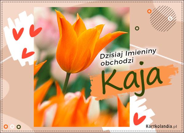 Kaja - Kartka Imieninowa