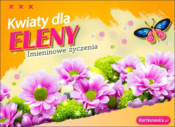 eKartki elektroniczne z tagiem: Lenka Kwiaty dla Eleny,