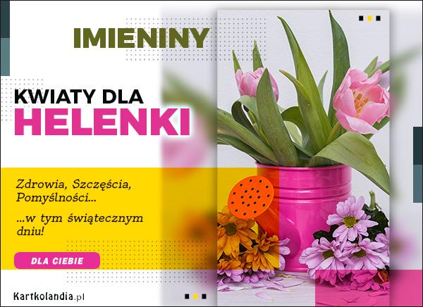 eKartki elektroniczne z tagiem: Lenka Kwiaty dla Helenki,