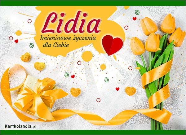 eKartki elektroniczne z tagiem: Lidka Lidia - Dziś Twoje święto!,