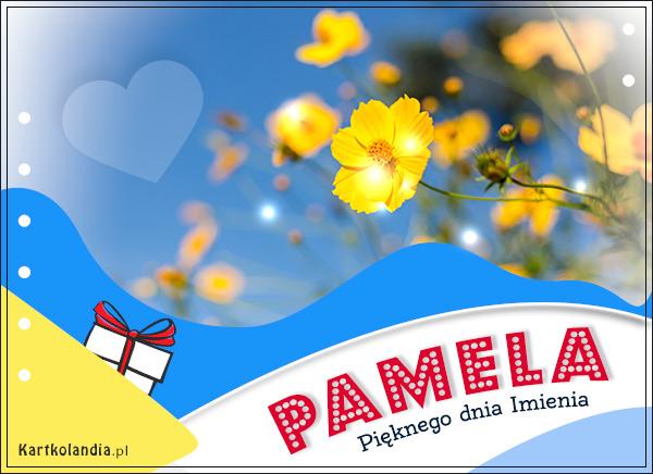 eKartki elektroniczne z tagiem: Amelcia Pamela - Pięknego dnia Imienia,