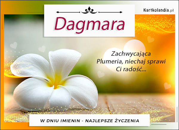 Solenizantka Dagmara