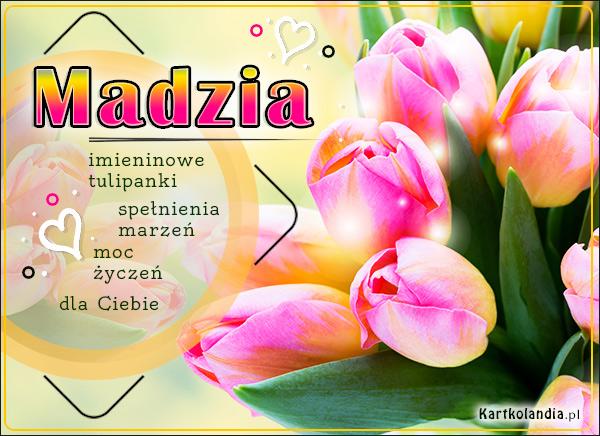 eKartki elektroniczne z tagiem: Lenka Tulipany z życzeniami dla Madzi,