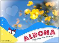 eKartki Imienne Damskie Aldona - Pięknego dnia Imienia!,