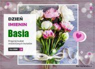 eKartki Imienne Damskie Basia - Przyjmij kwiaty,