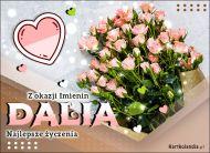 eKartki   Bukiet róż dla Dalii,
