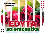 eKartki Imienne Damskie Edyta - Imieninowe Życzenia,