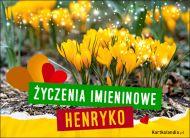 eKartki Imienne Damskie Henryka - Życzenia Imieninowe,