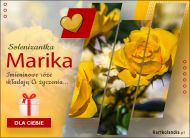eKartki Imienne Damskie Imieninowe róże dla Mariki,