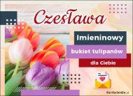 eKartki Imienne Damskie Imieninowy bukiet dla Czesławy,
