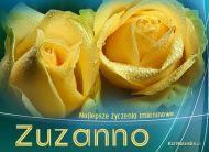 eKartki Imienne damskie Kartka imieninowa dla Zuzanny,
