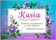eKartki Imienne Damskie Kasia - Przyjmij życzenia!,