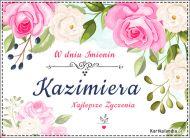 eKartki Imienne Damskie Kazimiera, Kazia, Kaziunia...,