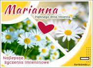 eKartki Imienne Damskie Marianna - Pięknego dnia Imienia,