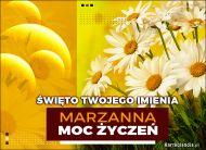 eKartki Imienne Damskie Marzanna - Święto Twojego Imienia,