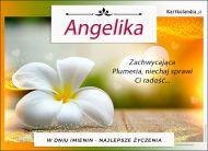 eKartki Imienne Damskie Solenizantka Angelika,