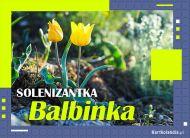 eKartki Imienne Damskie Solenizantka Balbinka,