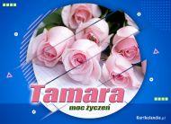 eKartki Imienne Damskie Tamara - Moc imieninowych życzeń,