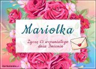 eKartki Imienne Damskie Wspaniałego dnia Imienin Mariolka,