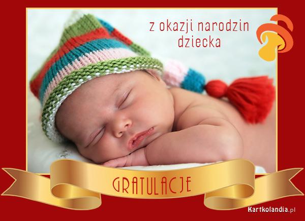 Gratulacje z narodzin dziecka