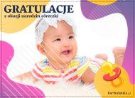 eKartki Wyraź uczucia -> Gratulacje Gratulacje z narodzin córeczki,