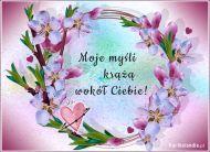 eKartki elektroniczne z tagiem: Darmowe e-kartki Myślę o Tobie!,